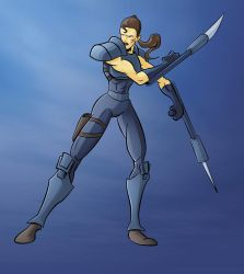 Valerie Duval from Mutant Chronicles by GreenBearBrummbar