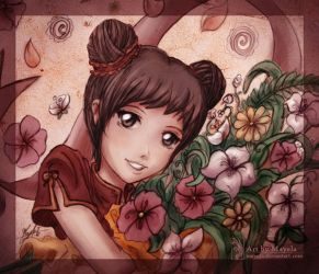 Pucca Flowers by Maye1a