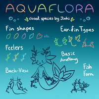 Aquaflora Reference/Info Sheet by Jinhii