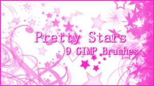 GIMP Pretty Stars by Illyera