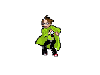 Dr. Forrester Sprite by strongbadfan45