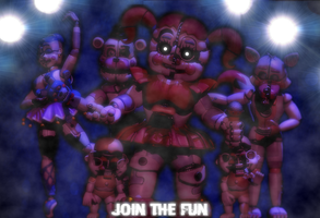[FNAF/C4D] Join The Fun by CaramelloProductions
