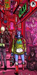 She's got neon in her blood by BlindKnight