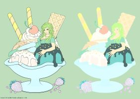 Ice Cream - Flats by TracyWong
