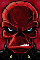 Red Skull P. Series by Thuddleston