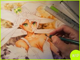 Find my world in your dreams WIP by Naschi