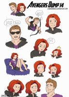 Avengers Dump 14 by LauraDoodles