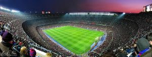 Nou Camp Stadium Barcelona 2 by Nightline