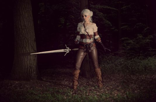 Cirilla from Cintry Cosplay by psiaknorris