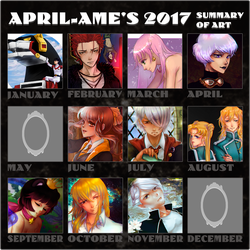2016 Summary Of Art by april-ame