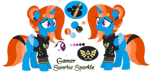 ::Gift:: Gamer Sunrise Sparkle |ColorBase| by AngelLightYT