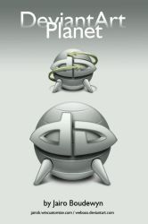 DeviantArt Planet Icons by weboso
