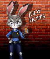 Judy Hopps [Zootopia]  - Sonic Style by SilverAlchemist09