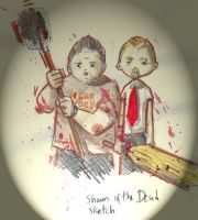 Shaun Of The Dead by Iceland-Ink
