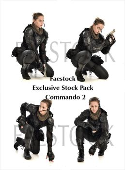 Commando  - Exclusive Stock Pack 2 by faestock