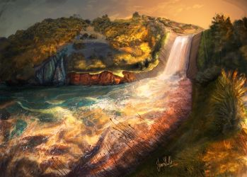 Spillway by chateaugrief