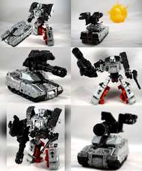 G1 Megatron Custom by TrueError