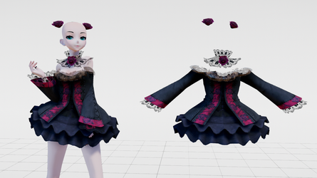 [MMD] Lolita Gotica (Rigged) UPDATE! by Danicore
