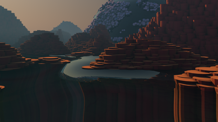 Rocks and Water 1 by Lithium-Polygon
