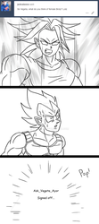 Ask Vegeta 44 by Camron23