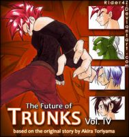Future of Trunks: Vol IV Cover by Rider4Z