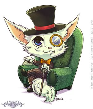Gnar Gentleman - Fanart League of Legends by o0dzaka0o