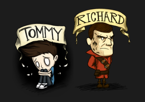 Don't Starve mod - Tommy and Richard by Menaria