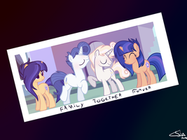 MLP [Next Gen] Photo of a family reunion by SpectrumNightYT