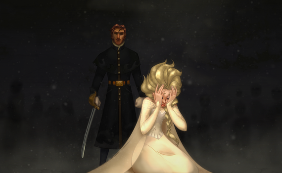 The Execution of Queen Elsa by Toyboy566