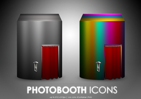 Photobooth icons by MDGraphs