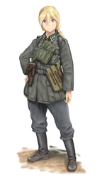 1940 Soldat by The-King-in-Grey