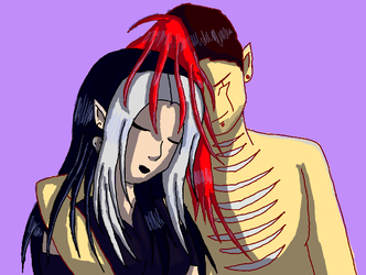 Victor and Decaya Colored by JouYasha