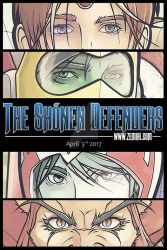 The Shonen Defenders - Final Tease. by ZeMiaL-OnLine