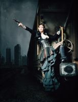 Danger .... Steampunk by S-T-A-R-gazer