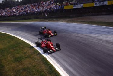 Michele Alboreto | Gerhard Berger (Italy 1988) by F1-history