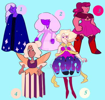 Unsold adopts (lowered prices, open 3/5) by CrabStag