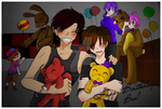 Fnaf- It should've been this way (colored version) by karinchan97