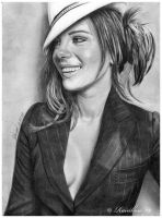 Kate Beckinsale by lightrainbow