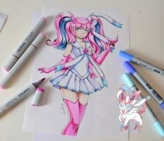 Sailor Sylveon by Lighane