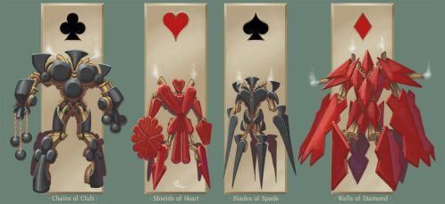 Four Aces of Siege by lgliang