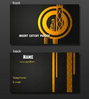 Business Card Layout.1 by yellow-five