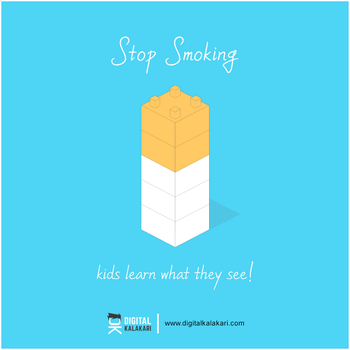 Stop Smoking | Poster Design by digitalkalakari