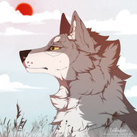 red sun by muryoko