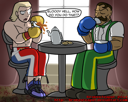British Boxing Etiquette 101 by BrokenTeapot