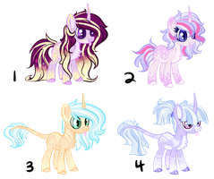 Unicorn Shipping Foals - AUCTION - CLOSED by CHEESE-CHEDDAR