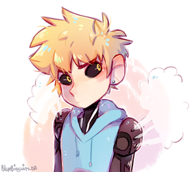 [one Punch Man] Genos by Bluebiscuits