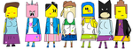 The LEGO Movie Characters as EQG Characters by Ghostbustersmaniac