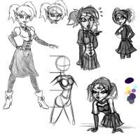 Emily - sketches by FarothFuin