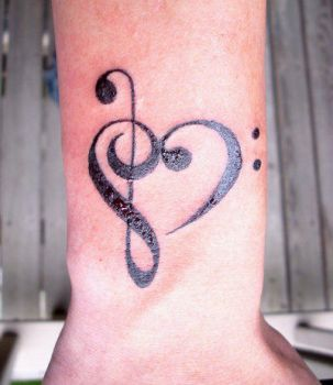 Musical Themed Tattoo C by dadenko
