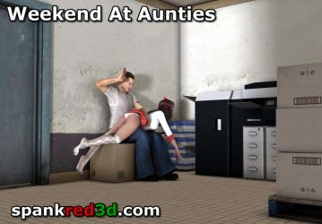 Weekend at aunties continued by SpankRed